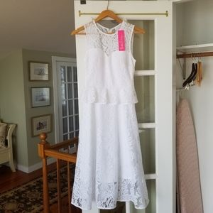 Lilly Pulitzer Nolea Dress Paradise Found lace 0
